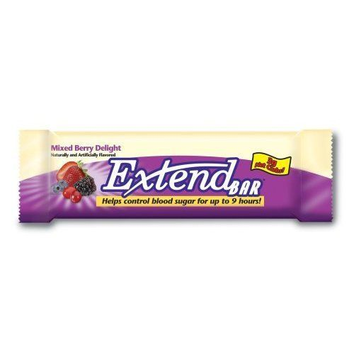 ExtendBar, Mixed Berry Delight, 1.41-Ounce Bars (Pack of 15) by Extend ...