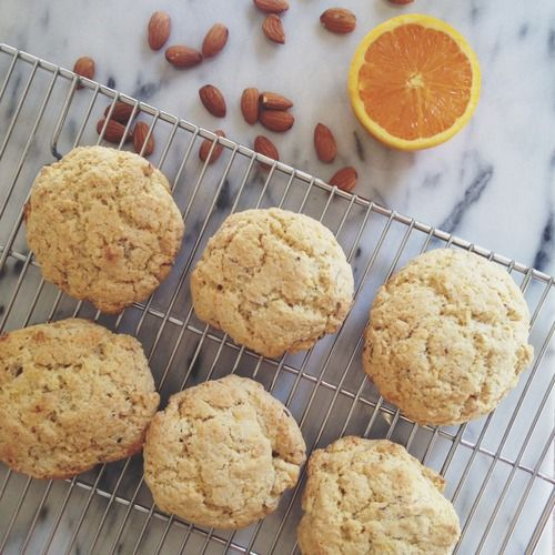In the Loop: Almond Orange Scones | The Leftovers Club | Pinterest