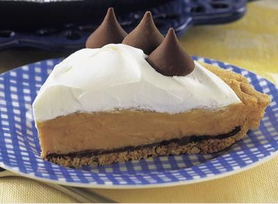 CHOCOLATE - Make that special someone this Kisses Peanut Butter Pie ...