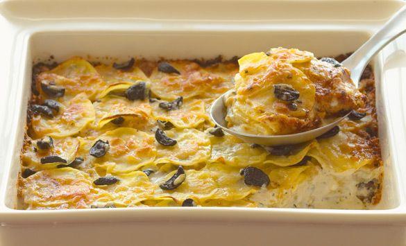 Black Olive Potato Gratin | Lindsay Olives