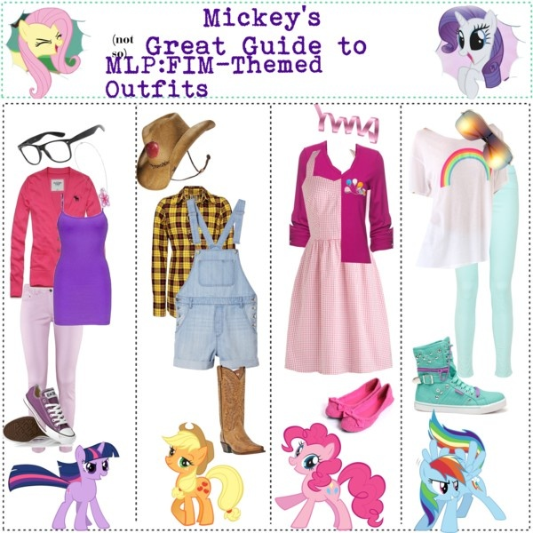 Mlp Inspired Outfits For The Kiddos Pinterest