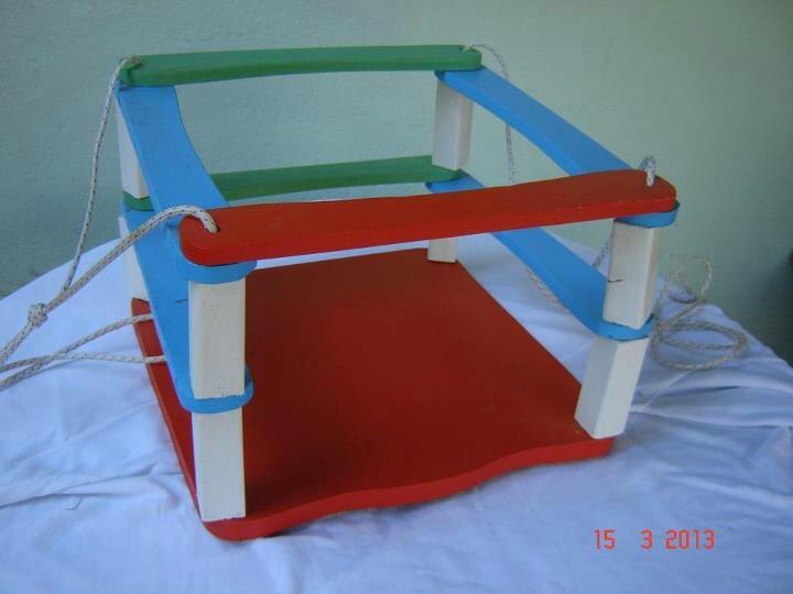 Columpio juguetes de madera pinterest - Columpio de madera ...