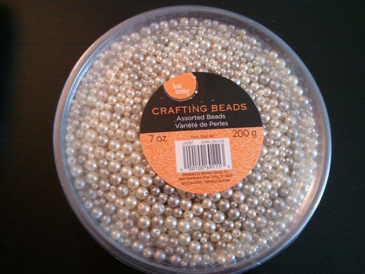 DIY Beads for ornament making