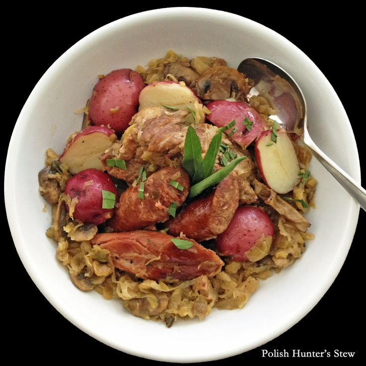 Polish Hunter's Stew {Bigos} Eastern European comfort food at its best ...