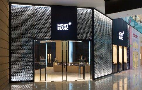 montblanc boutique in dubai mall storefront pinterest. Black Bedroom Furniture Sets. Home Design Ideas