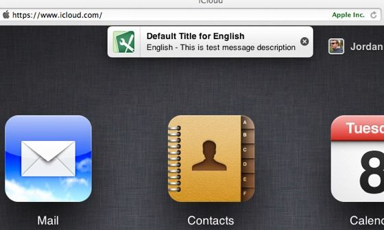 Looks like Apple is taking iOS notifications to iCloud website - via http://bit.ly/epinner
