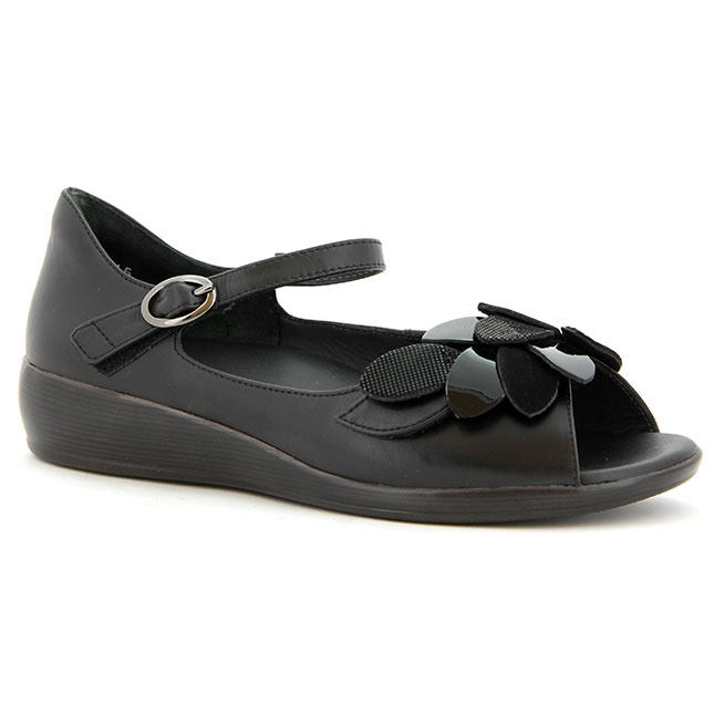 Dizzy in Black Suede $179.95 at ShoeMill.com - Ziera Shoes