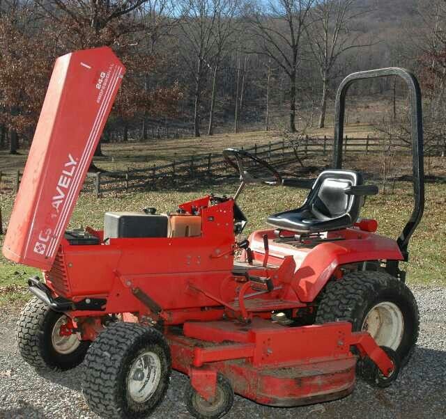 Tractor Mowing Painting : Pin by steve on gravely s pinterest