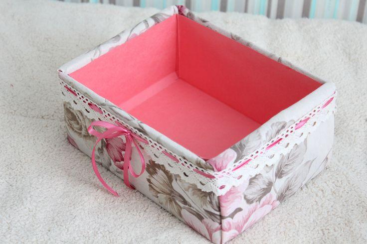 Как сделать из обувной коробки подарочные
