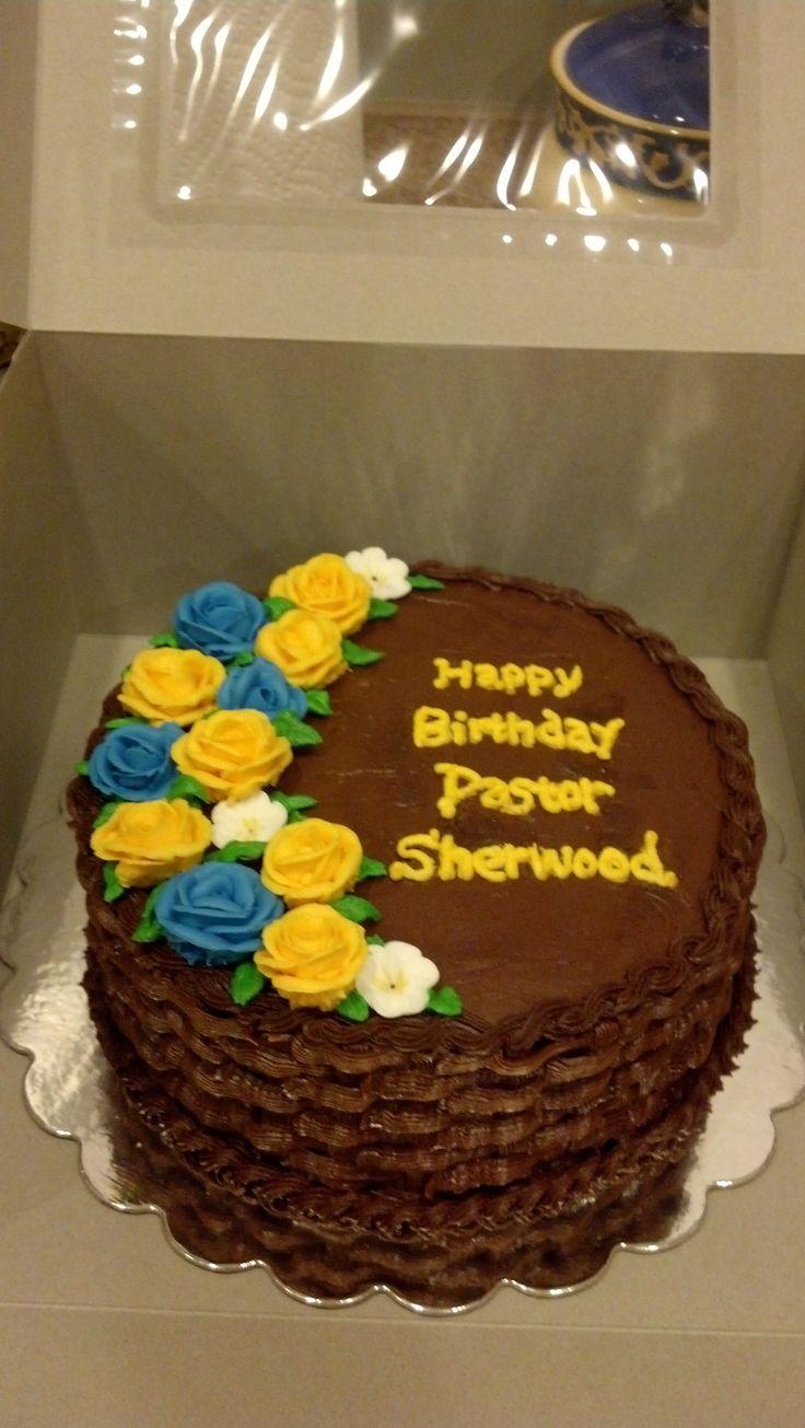 pastor birthday cake