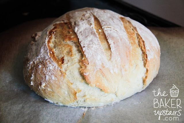 the baker upstairs: crusty artisan bread | Our Daily Bread | Pinterest