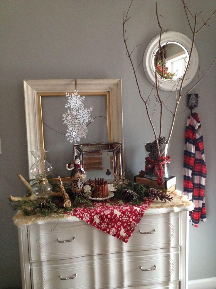 Christmas Decor Entryway Christmas Crafts Pinterest