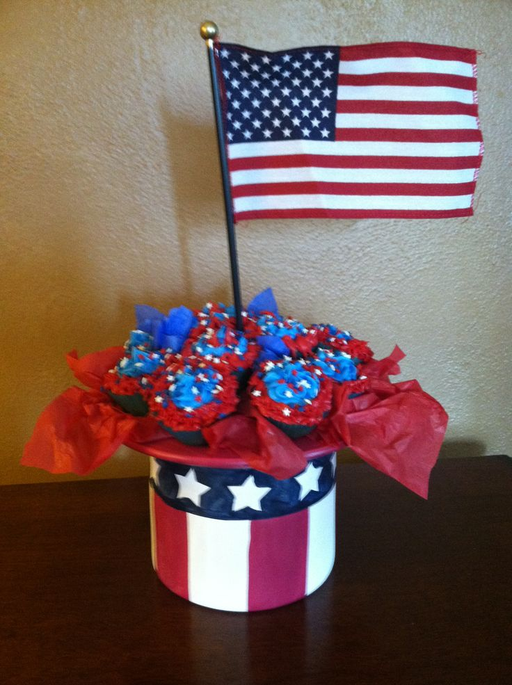 fourth of july cupcake recipe