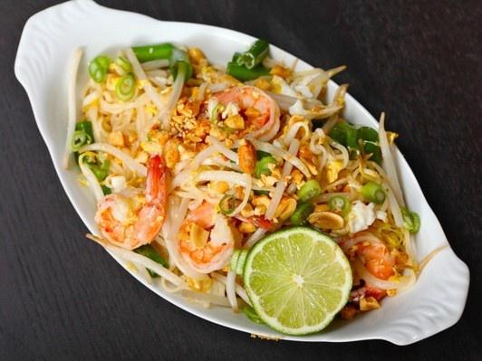 Pad Thai Ramen noodle upgrade...add shrimp, bean sprouts, fish sauce ...