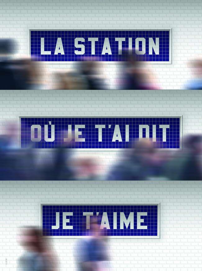 Célébrer Paris, 2014. Alain Le Quernec, designer graphique, affichiste, France