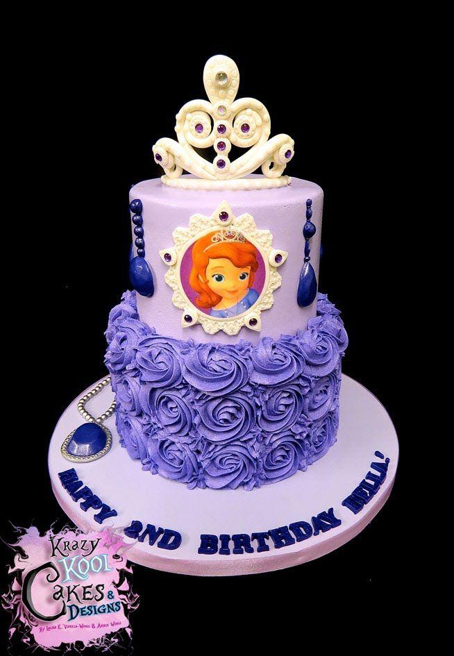 Sofia The First Birthday Cakes For Girls Foto Artis ...