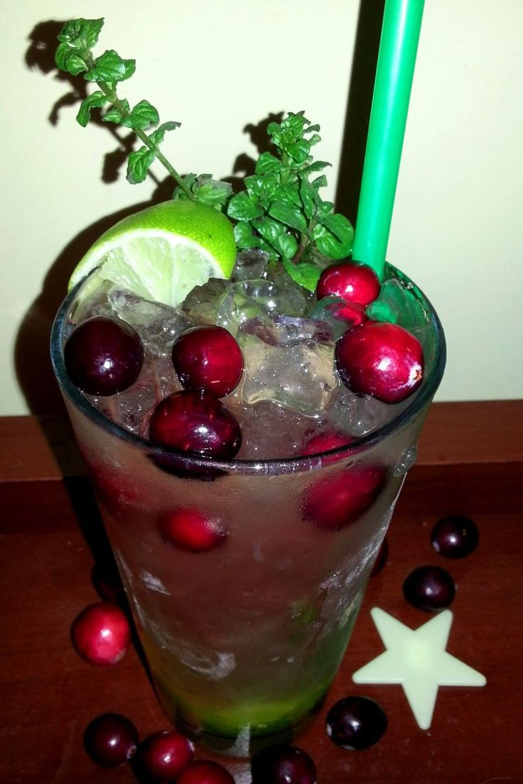 Cranberry Mojito | Cocktails - my pics | Pinterest