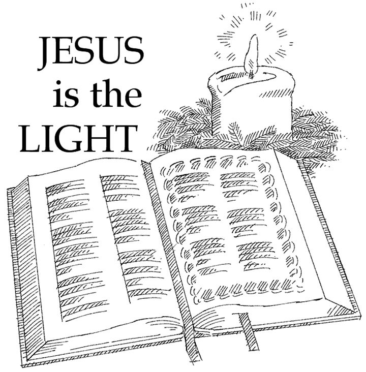Jesus is the light of the world sunday school coloring for Jesus is the light of the world coloring page
