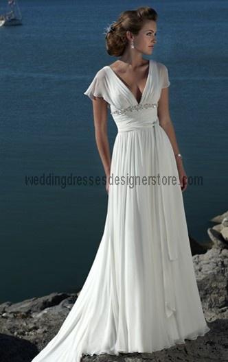 Tropical Island Wedding Dresses