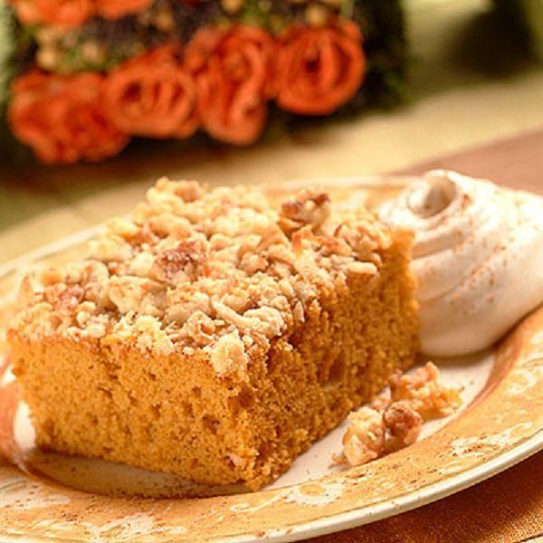 Pumpkin Crunch Cake Recipe | Cakes and Cupcakes Celebration | Pintere ...