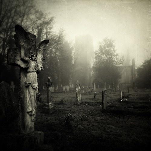 Spooky Graveyard | Detail - Statues and Stonework | Pinterest