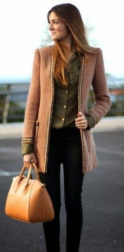 Stylish Jeans with Amazing Jacket and Luxurius Handbag