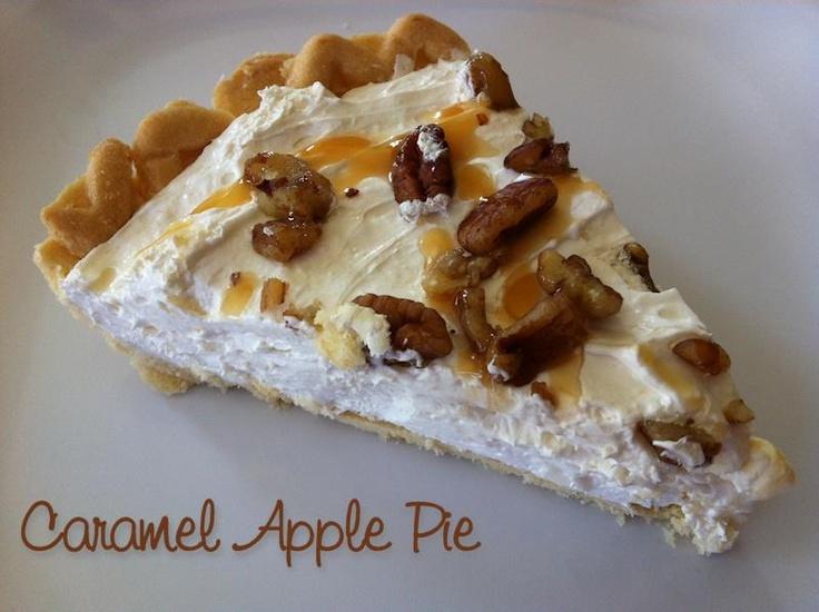 Caramel Apple Pecan Pie (made with our Caramel Apple Dip Mix) http ...