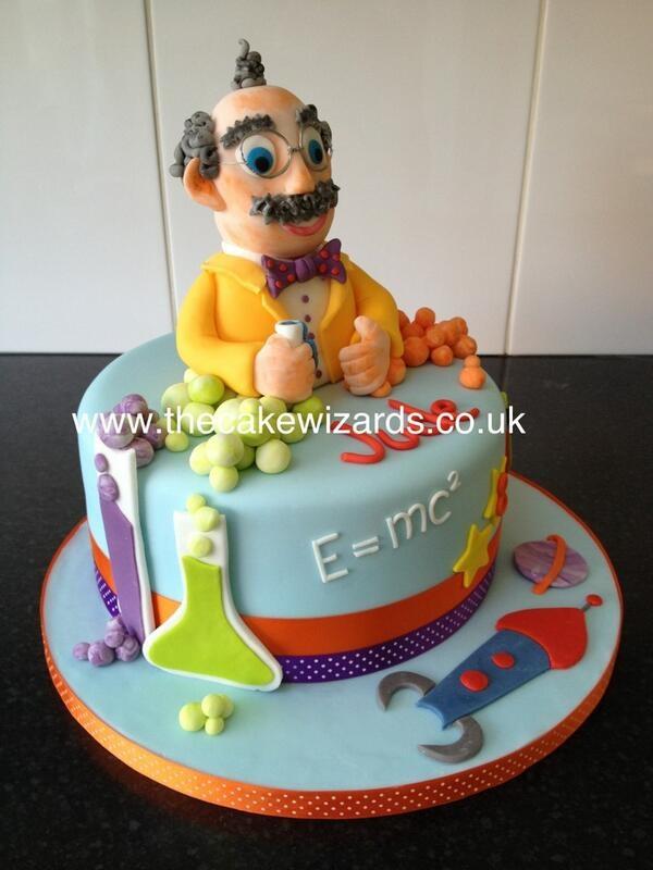 Science cake- I thought of Hamer hahahahahaha