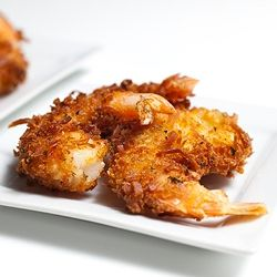 Coconut Shrimp with Spicy Grand Marnier Raspberry Dipping Sauce