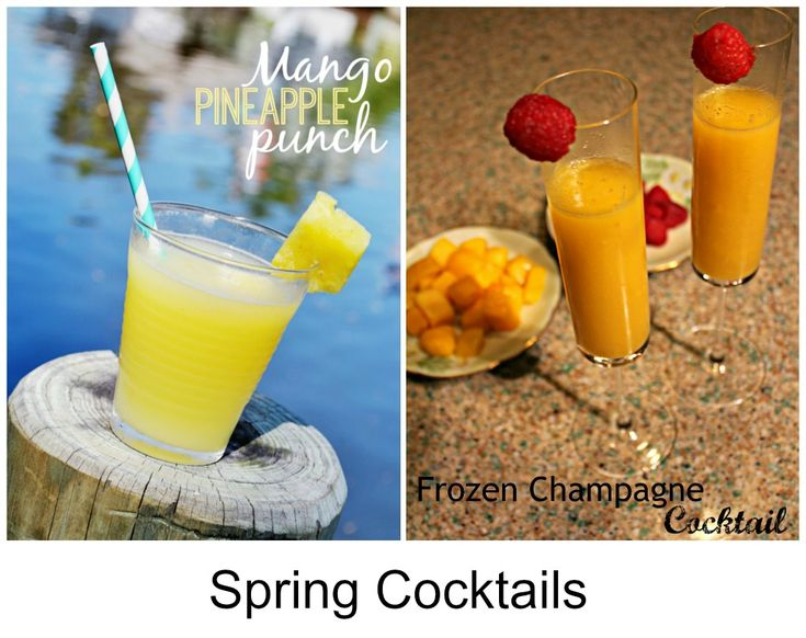 Mango Pineapple Cocktail Recipe: A punchy drink!