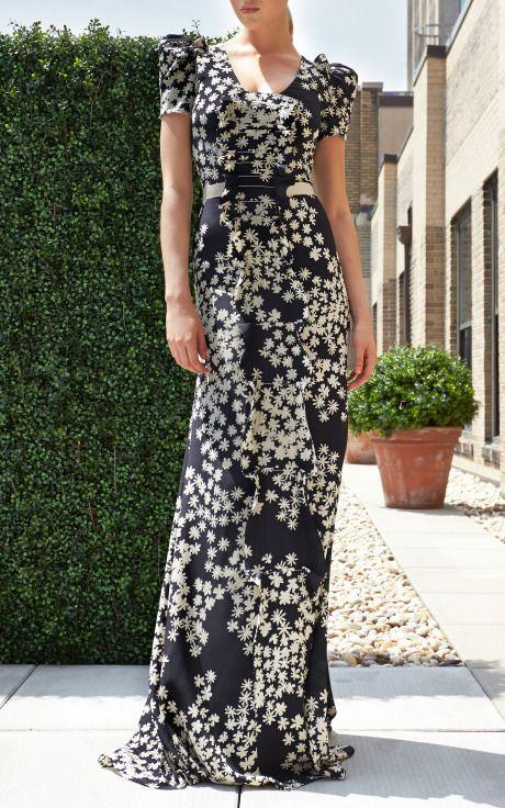 Gorgeous Black And White Maxi Dress