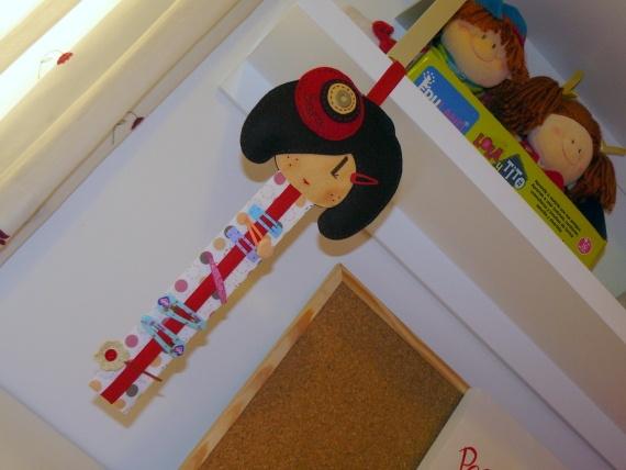 Organizador De Baño Bebe:Organizador de ranitas-clips de pelo, Niños y bebé, Accesorios