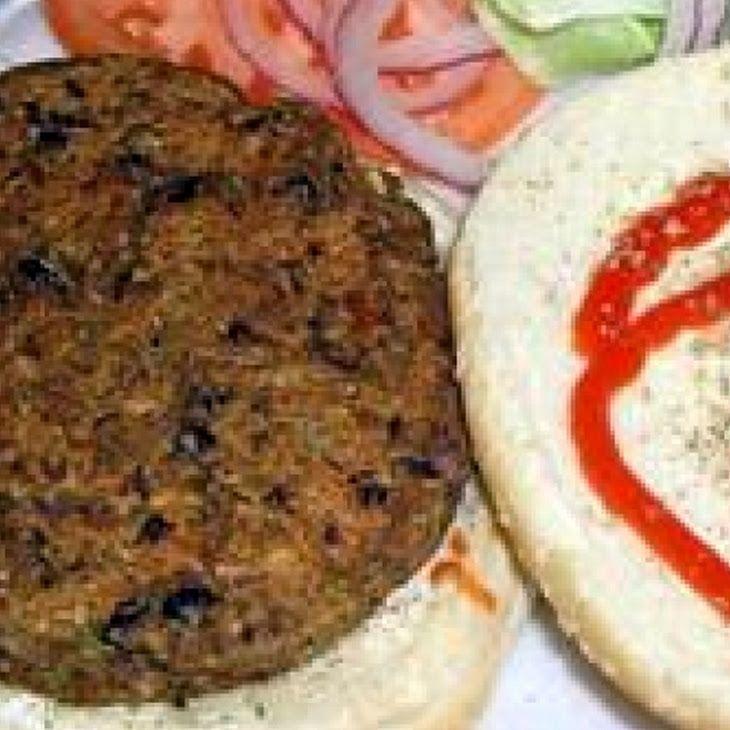 Homemade Black Bean Veggie Burgers Recipe