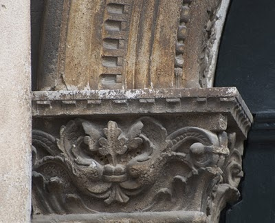 Venice, a detailed carving