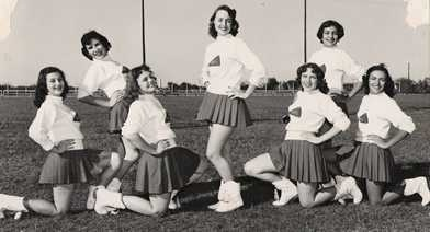 1969 Hippie High School Fashion Photography likewise 8289 164 baton De Majorette together with Stock Photo 1950s Smiling Woman Office Telephone Switchboard Operator 47243992 in addition Majorette Leotards furthermore 526217537680127221. on majorettes retro