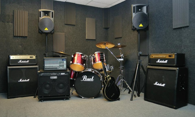 Rehearsal set up music room ideas pinterest for Small room 7 1 setup