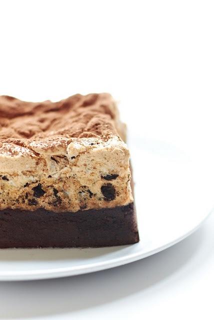 chocolate & hazelnut meringue cake... | Meringues | Pinterest