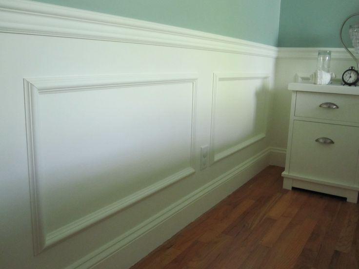 guest bedroom trim ceiling wall molding pinterest
