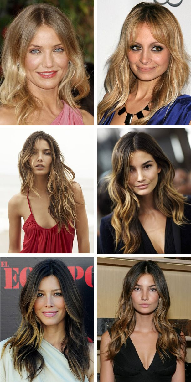 Balayage hairspiration
