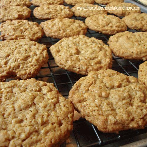 Maple Glazed Oatmeal Cookies | Recipe