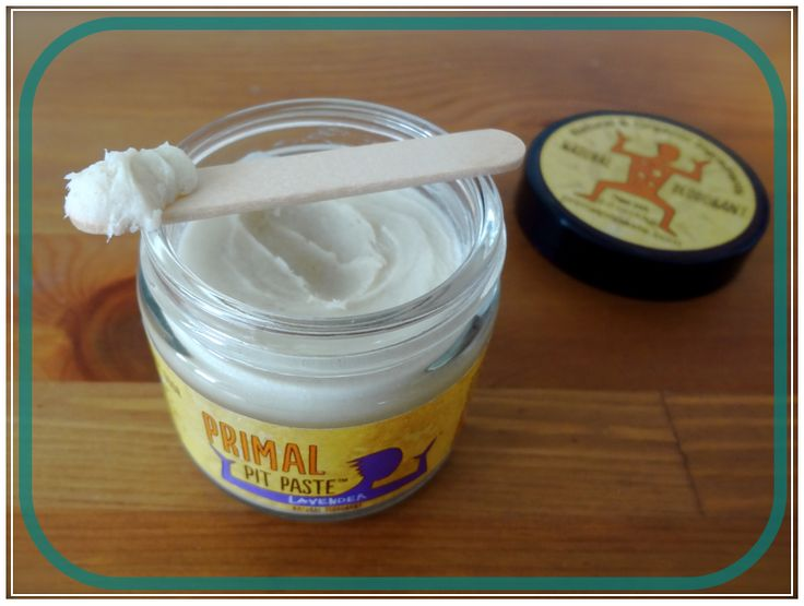All Natural Deodorant that really works.. Primal Pit Paste/This is not a recipe I believe you can buy it... http://bodyunburdened.com/