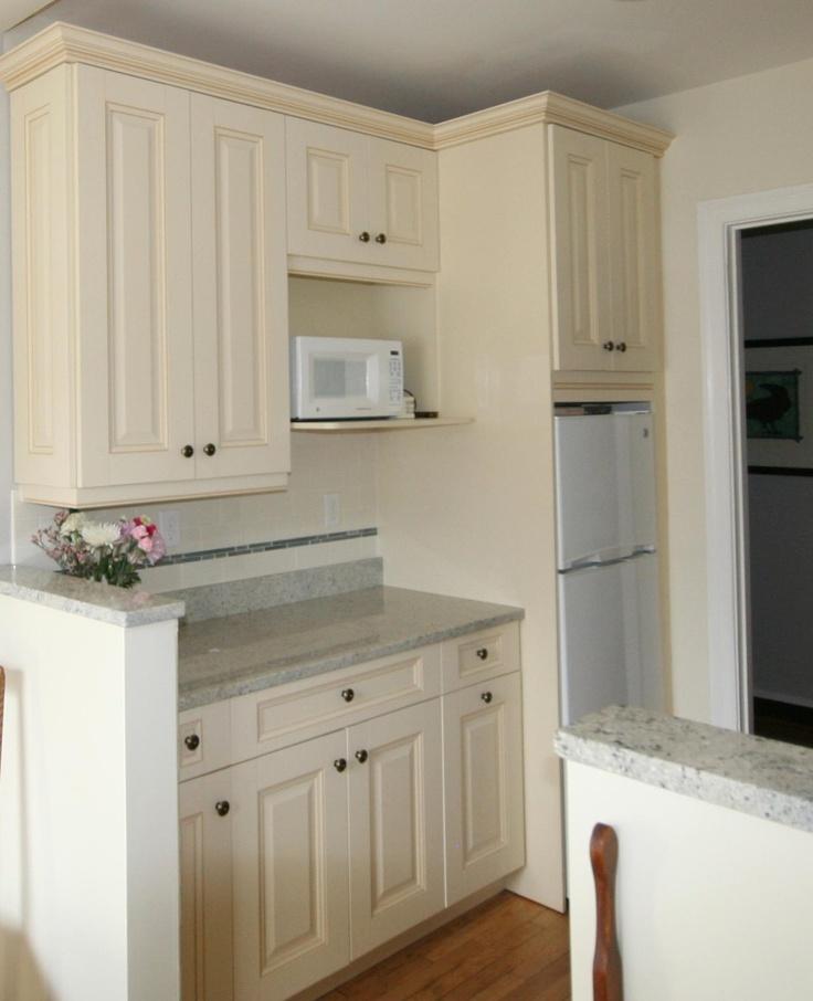 White galley kitchen  White Kitchens, Ivory Kitchens, Cream Kitchens