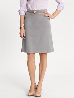 sleek a line skirt for work a la mode work clothes