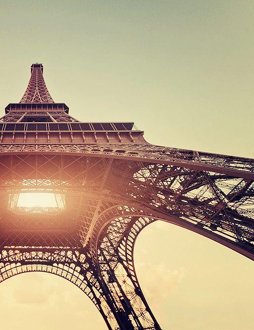 paris. golden hour.