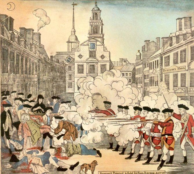 Boston Massacre Primary Source