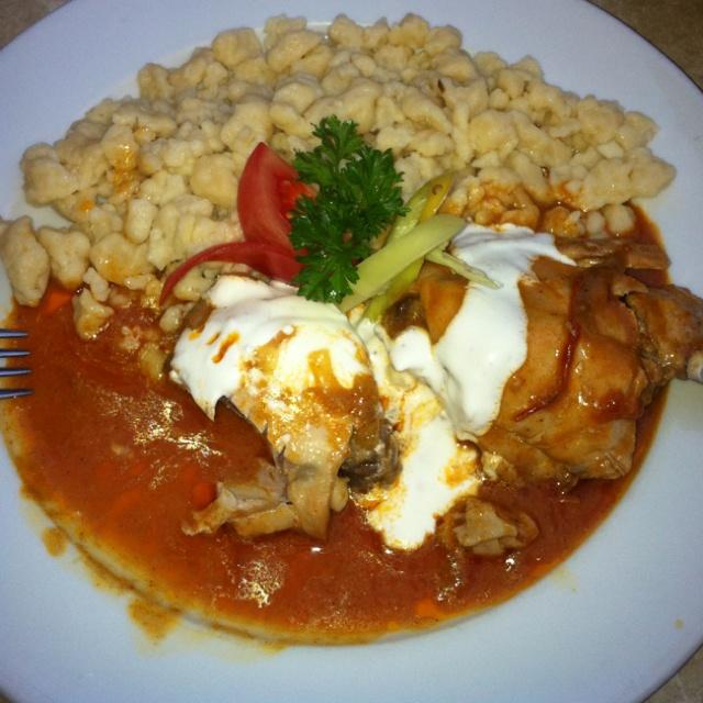 Hungarian Chicken Paprikash | Recipes | Pinterest