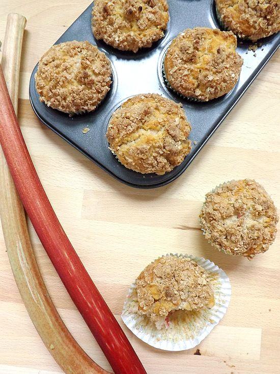 Rhubarb Streusel Muffins | Bake Then Eat's Board | Pinterest
