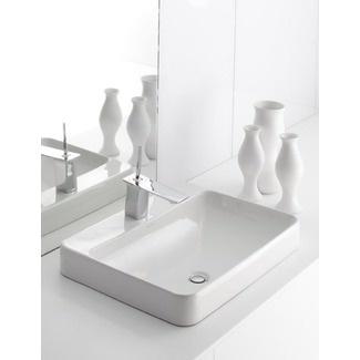 Kohler Vox Sink : Kohler Vox Rectangular Vessel Sink with Faucet Deck - 2660-1-0 $163.62