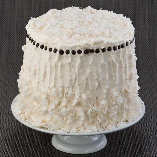 Gluten Free Coconut Layer Cake | gluten free goodness. | Pinterest