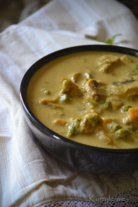 MUSHROOM AND VEGETABLE KORMA | Food Stuff - International Cuisine | P ...